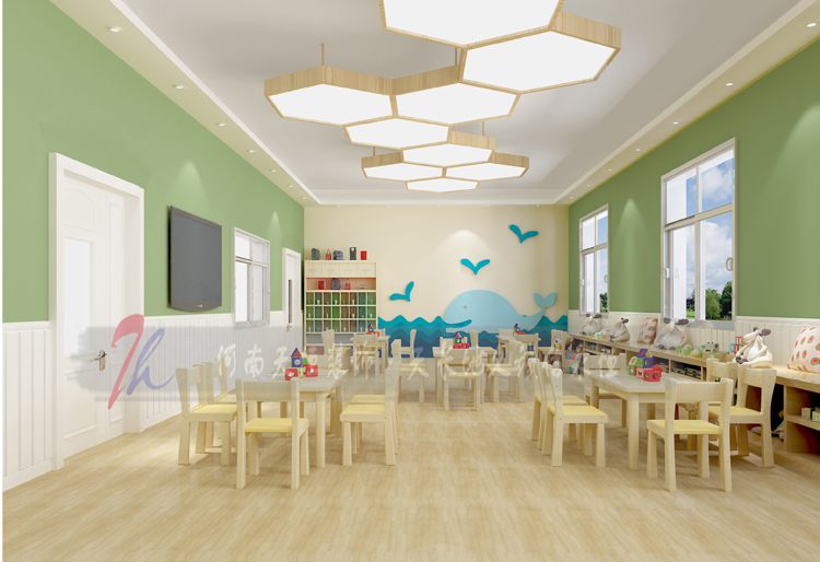 南阳汉都阳光幼儿园设计